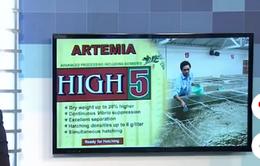 Bộ Tài chính sẽ áp thuế nhập khẩu trứng Artemia