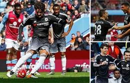Aston Villa 0-4 Chelsea: Pato ra mắt ấn tượng, Chelsea thắng đậm