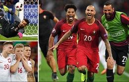 VIDEO EURO 2016: Xem lại diễn biến trận tứ kết Ba Lan 1-1 (3-5) Bồ Đào Nha