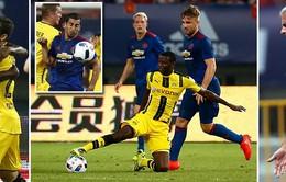 VIDEO: Xem lại diễn biến trận đấu Manchester United 1-4 Dortmund
