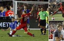 VIDEO, Chelsea 1-0 Liverpool: Cahill lập công, Fabregas bị đuổi!