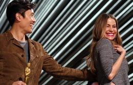 Oscar 2016: Lee Byung Hun không thể kiềm lòng trước mỹ nhân Hollywood