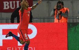VIDEO Chile 2-1 Peru: Người hùng Vidal!