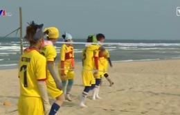 ĐT cầu mây bãi biển Việt Nam gặp khó trước Asian Beach Games 2016