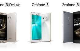 Asus Zenfone 3, Zenfone 3 Deluxe và Zenfone 3 Ultra: Đi tìm sự khác biệt