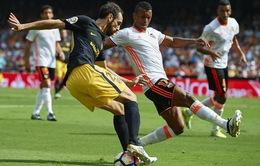 Valencia 0 - 2 Atletico Madrid: Bỏ lỡ 2 quả penalty, Atletico vẫn có 3 điểm