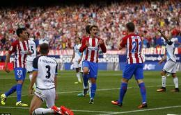 Vòng 6 La Liga: Atletico trở lại top 3, Valencia ngược dòng ấn tượng