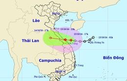 Áp thấp nhiệt đới gây mưa lớn tại Trung Trung Bộ