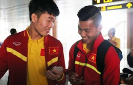 ĐT Việt Nam hứng khởi tới Nay Pyi Taw, chuẩn bị đối đầu Campuchia