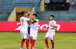 U19 Việt Nam vất vả đánh bại Philippines trong trận cầu 7 bàn thắng