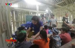 """""""Sách cho em"""" đến với trẻ em nghèo Hà Giang"""