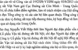 Cách chức TGĐ CTCP Vận tải Đường sắt Hà Nội vì đề xuất mua tàu cũ từ Trung Quốc