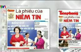 Báo chí toàn cảnh: Bầu cử ĐBQH khóa XIV và đại biểu HĐND các cấp thành công tốt đẹp