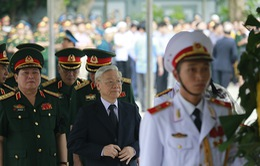 Lãnh đạo Đảng, Nhà nước dâng hương tiễn biệt 9 liệt sĩ CASA 212
