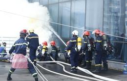 Diễn tập phương án chữa cháy và cứu nạn, cứu hộ tại tòa nhà cao nhất Việt Nam