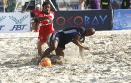 Bóng đá bãi biển Nhật Bản đăng quang ABG 5 sau trận chung kết siêu căng thẳng