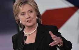 Quỹ vận động tranh cử của bà Hillary Clinton đạt số tiền kỷ lục