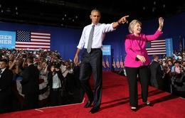 Tổng thống Obama đi vận động tranh cử cùng bà Hillary Clinton