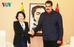 Chủ tịch Quốc hội hội kiến Tổng thống Venezuela