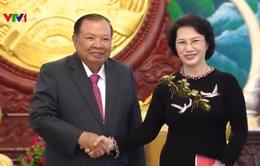 Chủ tịch Quốc hội kết thúc tốt đẹp chuyến thăm Lào, Campuchia, Myanmar