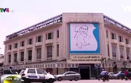 Bức tranh Chủ tịch Hồ Chí Minh về thông điệp hòa bình