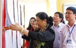 Phó Chủ tịch QH Tòng Thị Phóng kiểm tra, giám sát công tác bầu cử tại Thái Nguyên