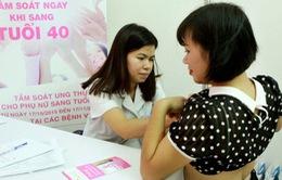 Phát hiện ung thư vú ở giai đoạn đầu, hơn 80% số người được chữa khỏi
