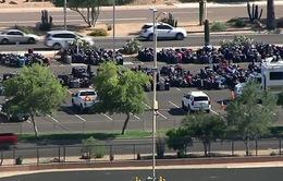 Hàng nghìn hành lý bị dồn ứ tại sân bay Phoenix, Mỹ
