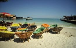 Các hàng quán ven biển Campuchia sắp bị di dời