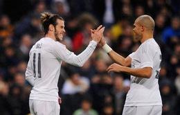 Bale và Pepe vắng mặt ở đại chiến AS Roma – Real Madrid