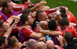 Bảng B EURO 2016, Xứ Wales 2-1 Slovakia: Chiến thắng ấn tượng của Bale và đồng đội