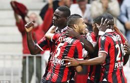 Vòng 6 Ligue 1: Balotelli lại ghi bàn, Nice đè bẹp Monaco