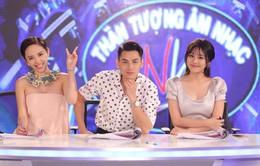 Issac, Tóc Tiên và Văn Mai Hương không thể ăn ý hơn trên ghế giám khảo
