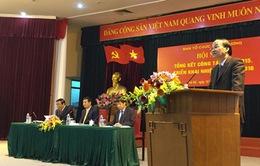 Hội nghị tổng kết công tác năm 2015 của Ban Tổ chức Trung ương