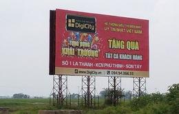 Hà Nội: Còn 13/18 quận huyện chưa hoàn thành tháo dỡ bảng quảng cáo vi phạm
