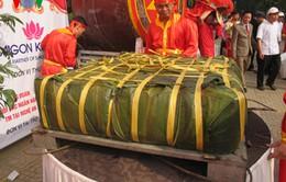 Dâng bánh chưng 2,5 tấn trong ngày Giỗ tổ Hùng Vương
