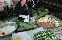Hà Nội: Làng nghề bánh chưng Tranh Khúc chuẩn bị hàng Tết đảm bảo chất lượng
