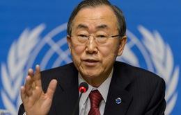 Tổng Thư ký Liên hợp quốc kêu gọi giải quyết hòa bình tranh chấp Biển Đông