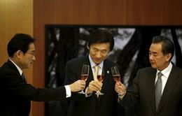 Ngoại trưởng Trung, Nhật, Hàn bàn vấn đề an ninh, hợp tác