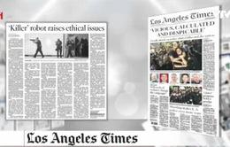 Robot tiêu diệt nghi phạm khủng bố tại Mỹ - Tâm điểm báo chí quốc tế