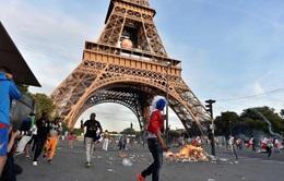 Cảnh sát Pháp cấm tụ tập ở khu vực tháp Eiffel sau trận CK EURO 2016