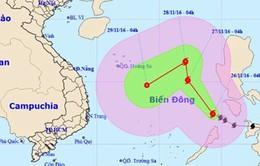 Bão số 9 tiếp tục tiến vào Biển Đông, gió giật cấp 11-12