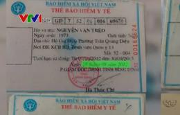Bình Định: Khổ sở vì mua BHYT nhưng không được thanh toán