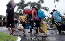 Philippines: Bão Nock-Ten có nguy cơ gây lũ quét và lở đất