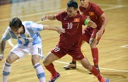 ĐT Futsal Việt Nam - Italy: Tin vào điều kỳ diệu (6h00 ngày 18/9)