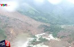 Trung Quốc: Một ngôi làng bị bão Megi vùi lấp