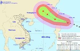 Xuất hiện siêu bão giật cấp 17 đang di chuyển vào Biển Đông