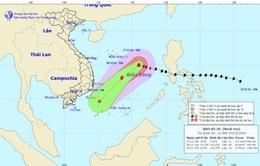 Hoàn lưu sau bão số 10 sẽ gây mưa lớn ở các tỉnh Nam Trung Bộ