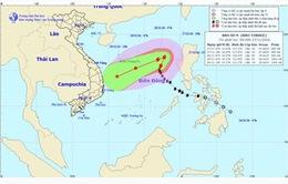 Bão số 9 liên tục đổi hướng, diễn biến phức tạp trên Biển Đông
