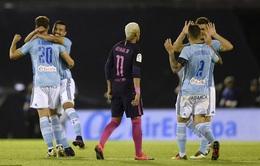 Celta Vigo 4-3 Barcelona: Barca thua sốc Celta Vigo